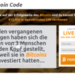Ein Screenshot von Sven Hegels Bitcoin Code
